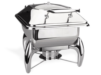 CHAFING DISH LUXE CRISTAL GN 2/3