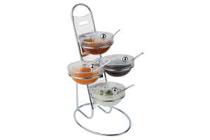 Soporte Escalera 4 boles Little
